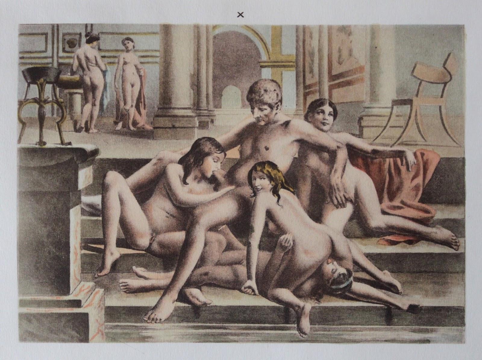 Секс в древности фото что