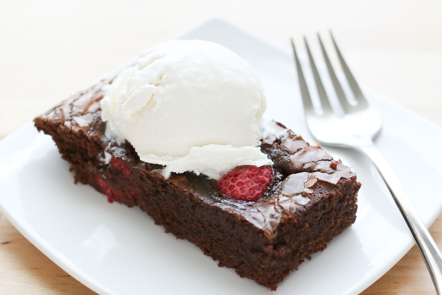 Barefeet In The Kitchen: Chocolate Raspberry Brownies {traditional and ...
