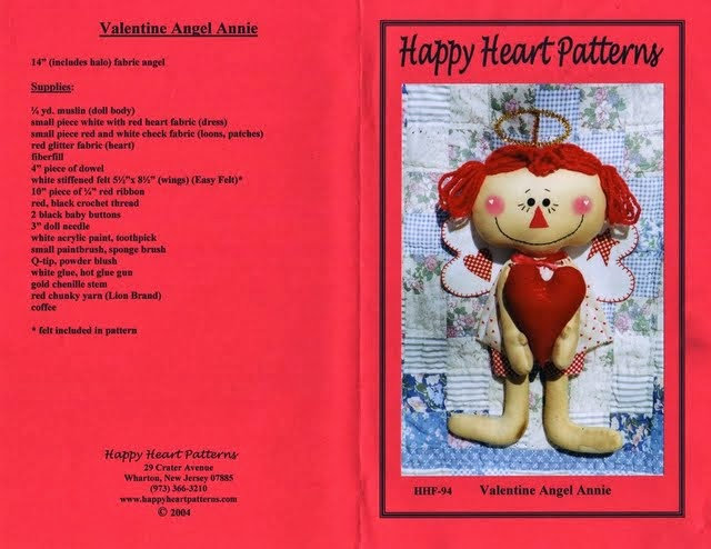 Moldes bonequinha com coração