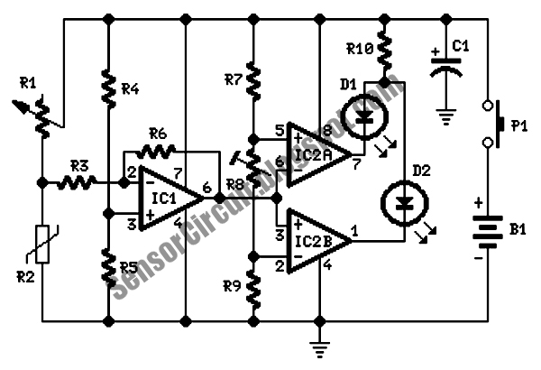 sensor schematic energy leak detector circuit rh sensorschematic blogspot com Water Heater Leak Detector Helium Leak Detector