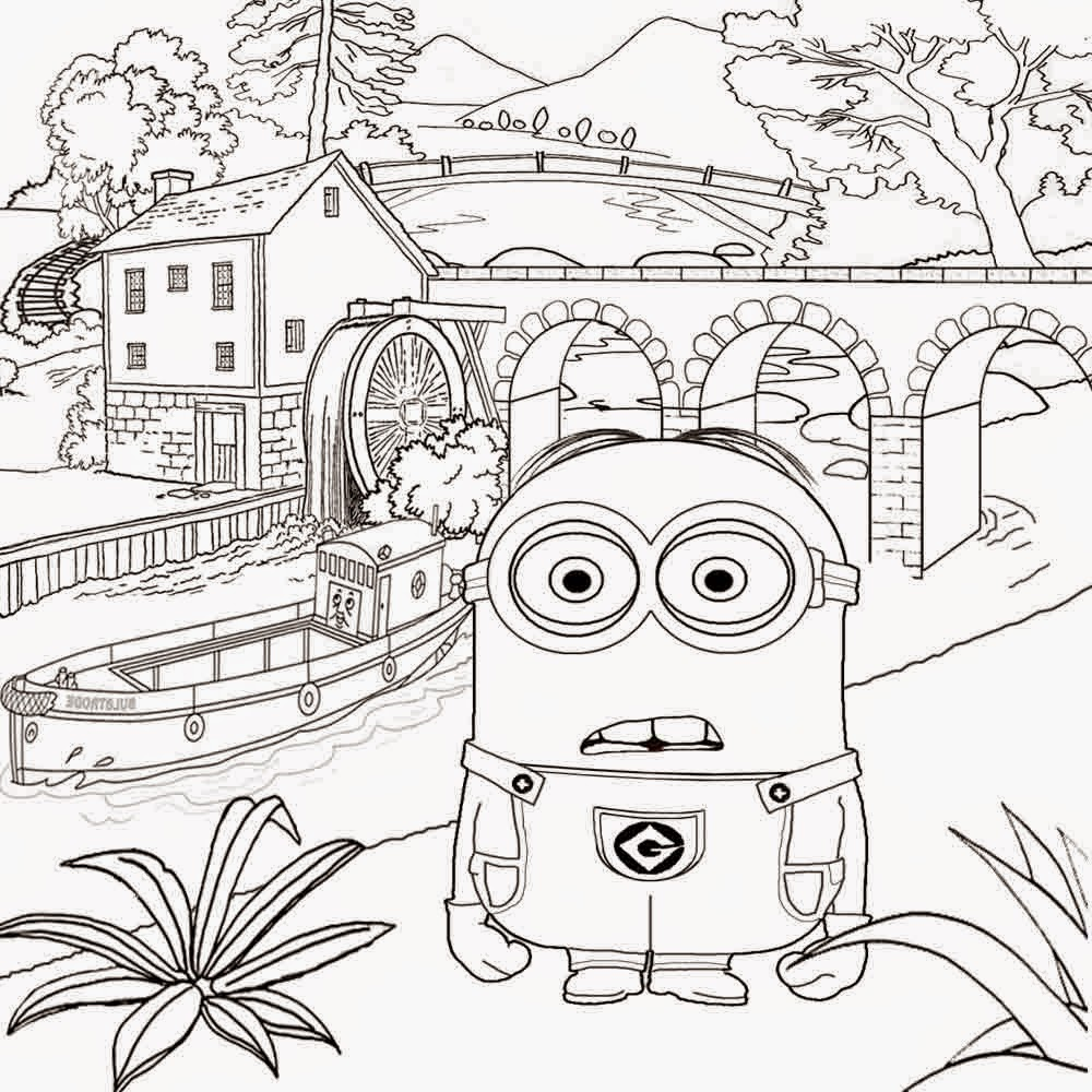 Printable color sheets for teen girls - For Kids Minions Coloring Detailed Coloring Pages For Teenage Girls