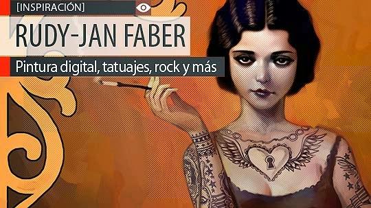 Pintura digital, tatuajes y más de RUDY-JAN FABER