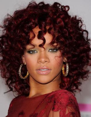 Rihanna Diamond Hoop Earrings