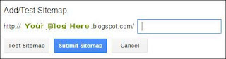 Sibmit sitemap to webmaster tools