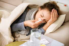 Influenza virus fever drifts away. But with a death toll claims 41 lives