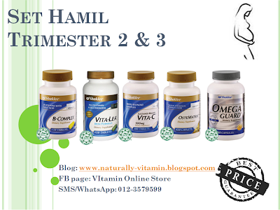 set hamil shaklee, set ibu mengandung, vitamin ibu hamil, vitamin ibu mengandung