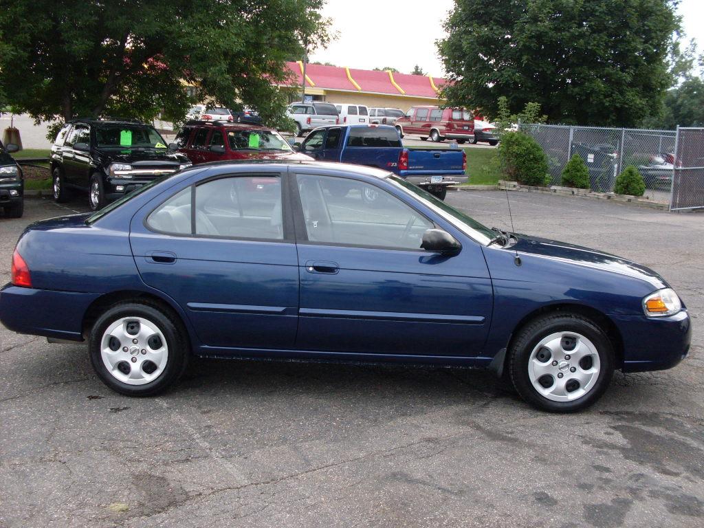 Ride Auto 2006 Nissan Sentra Blue