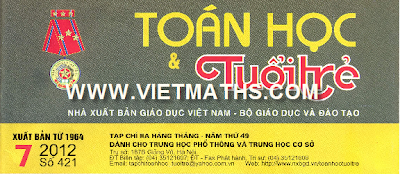 bao toan hoc tuoi tre so 421 thang 7 nam 2012, thtt so 421