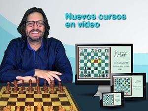 Cursos de ajedrez en vídeo