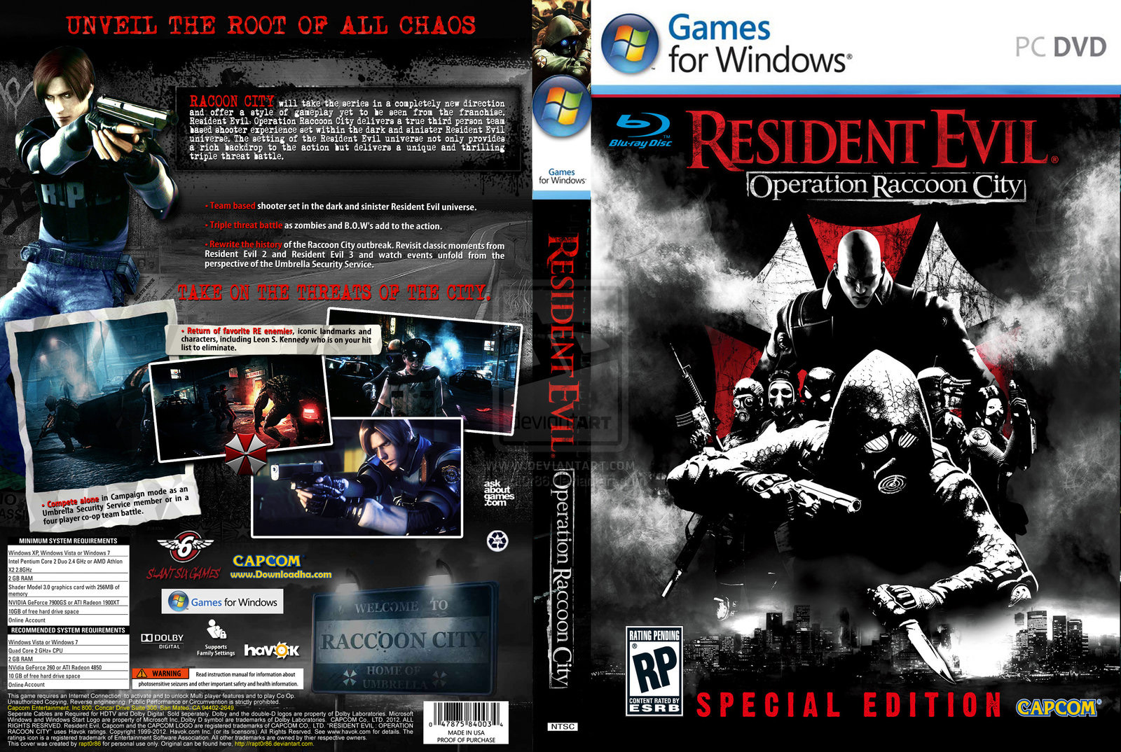 Comoresident Evil Operation Raccoon City Pc