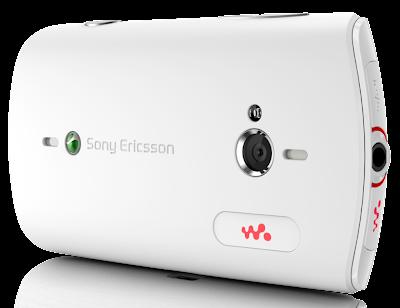 white sony ericsson cameraquality walkman live