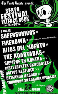 Sexto Festival Ixtenco Rock