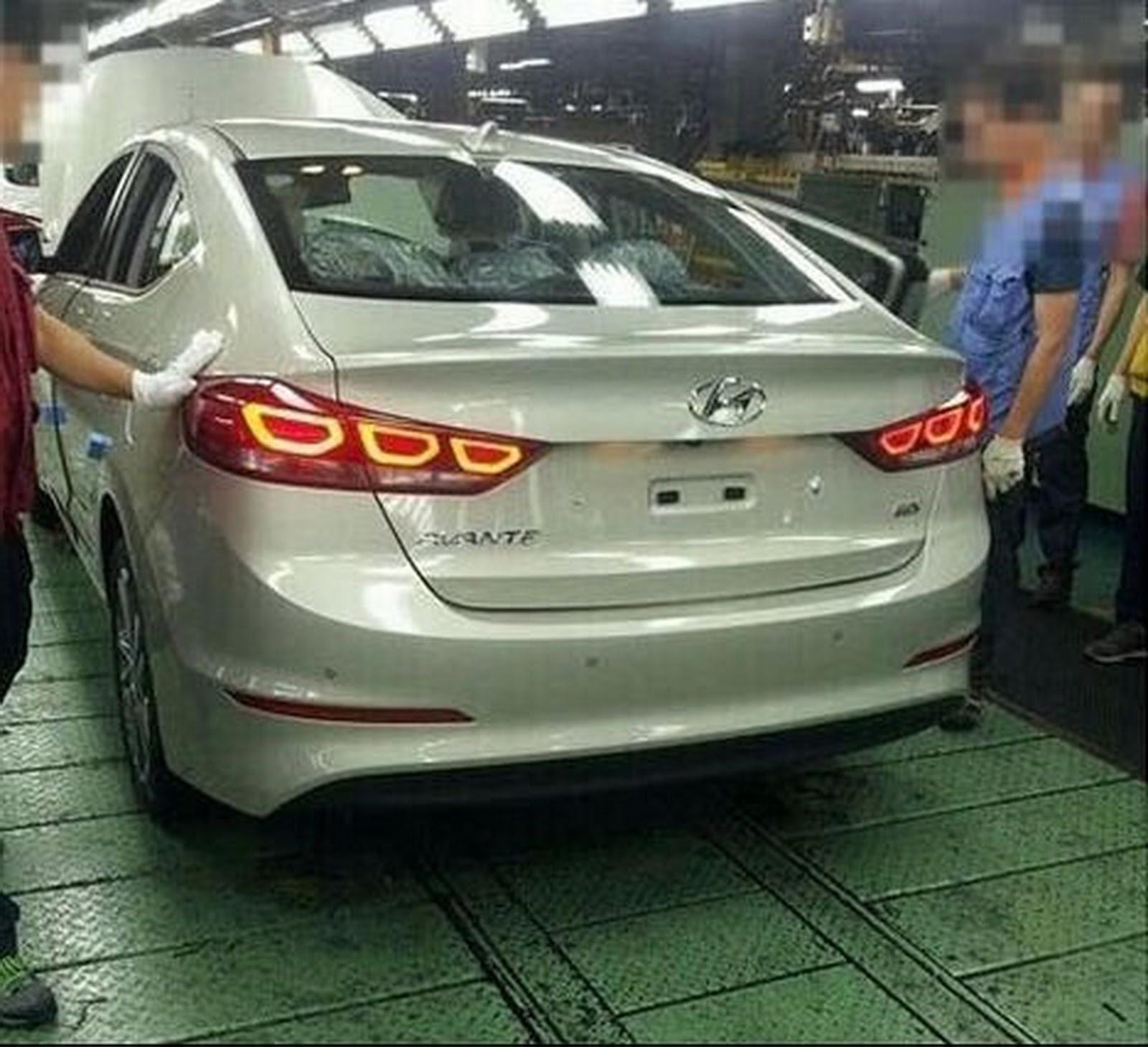 All New 2017 Hyundai Elantra Revealed In Leaked Shots