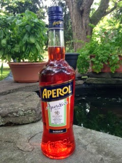 bottle of Aperol