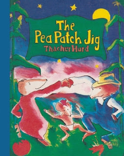 Steph, Liam, Review, The Pea Patch Jig by Thatcher Hurd, Bea's Book Nook