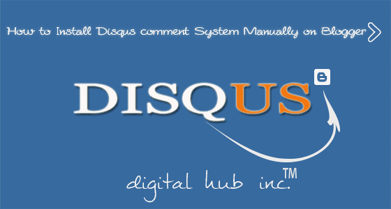Disqus comment System For Blogger