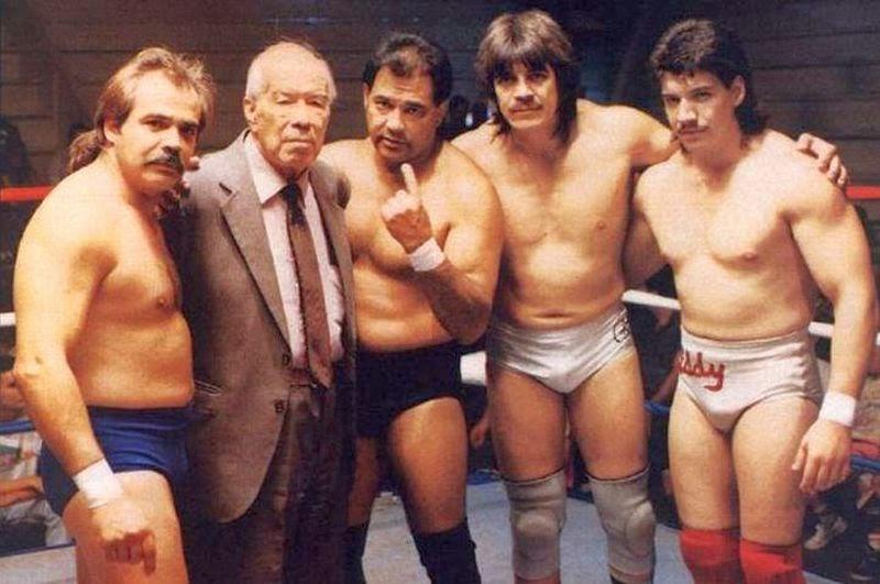 Mando, Gory, Chavo Sr., Hector and Eddie Guerrero