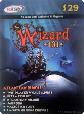 Wizard101 Atlantean Bundle