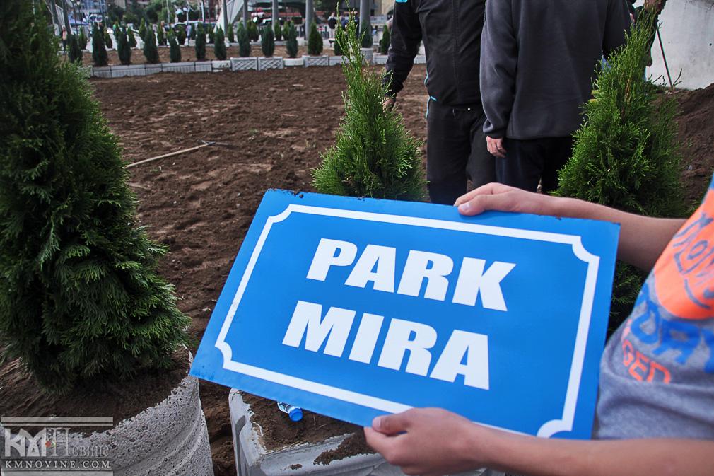 #KM novine, #most, #park mira