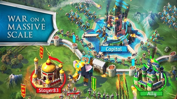 Gameloft releases March of Empires for Android, iOS and Windows Phone