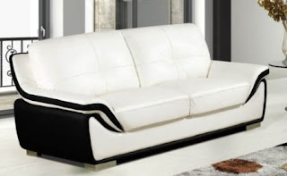Buy White Leather Sofa Online Modern White Leather Sofa