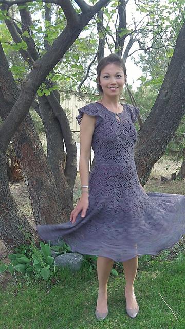 Modification Monday Danish Lace Dress Knitted Bliss