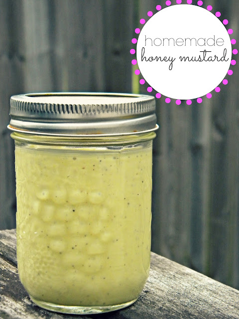 Homemade Honey Mustard via @labride #paleo