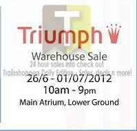 Triumph Warehouse Sale 2012