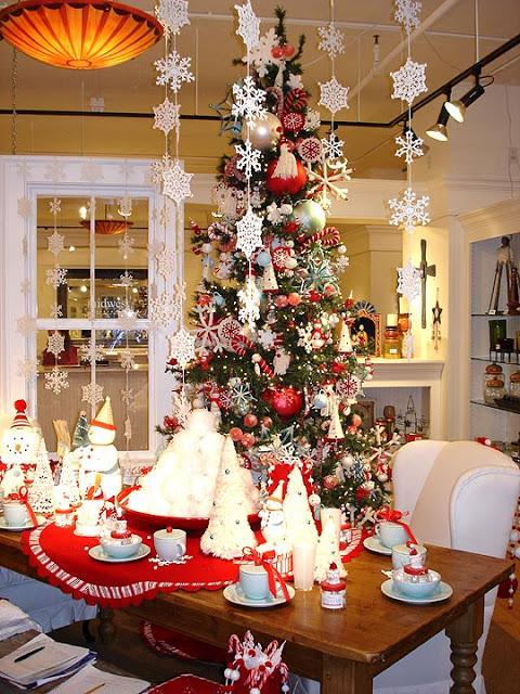 Fotos de mesas de navidad decoradas ideas para decorar - Mesas de navidad decoradas ...