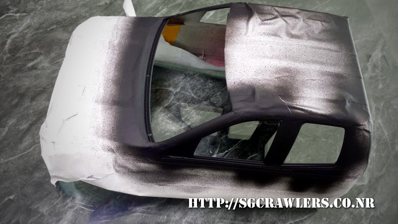 tamiya - Boolean21's Tamiya Highlift Tundra - new paint scheme - Ivan Stewart Toyota Theme 20140802_112606