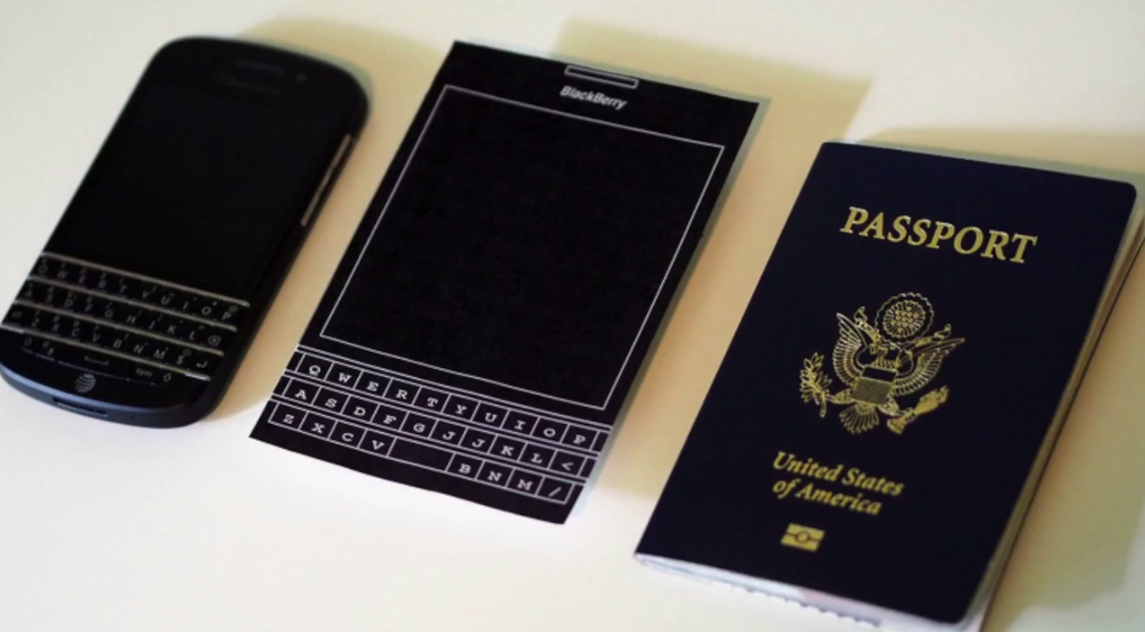New BlackBerry Passport. A Squared-Shaped Smartphone. ~ Pinoy Tech ...