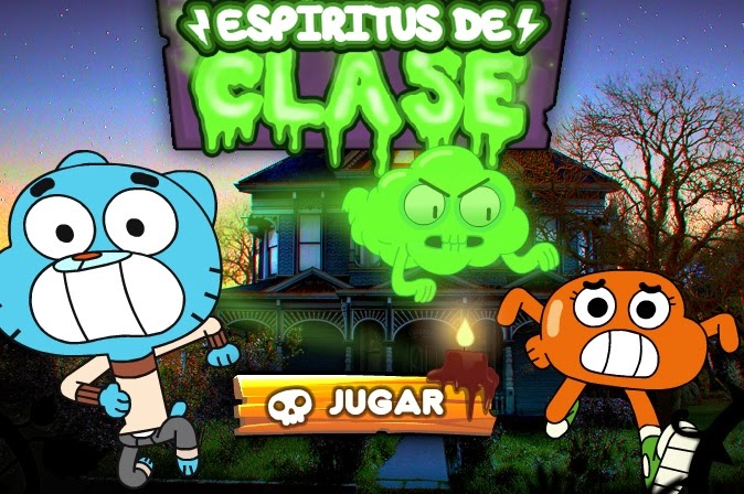 Increíble Mundo de Gumball de Cartoon ~ JUEGOS CARTOON Online Gratis
