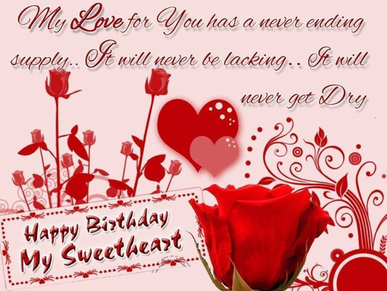 gallery for sweet happy birthday quotes for her