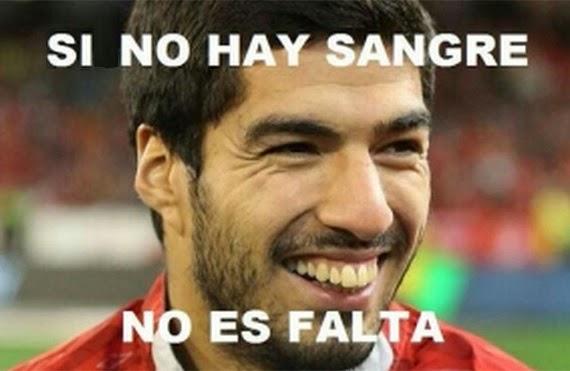 Los Memes de la Mordida de Suarez a Chiellini