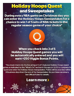 The Holiday Hoops Quest, Viggle, Viggle Mom
