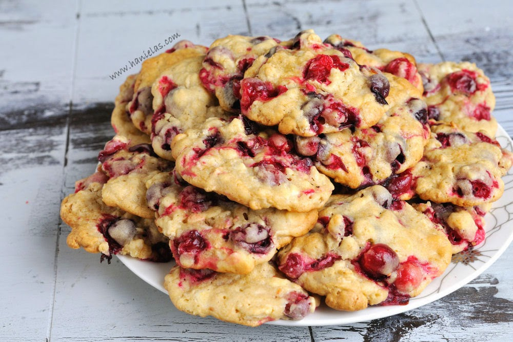 Oatmeal Cranberry White Chocolate Bar Cookies