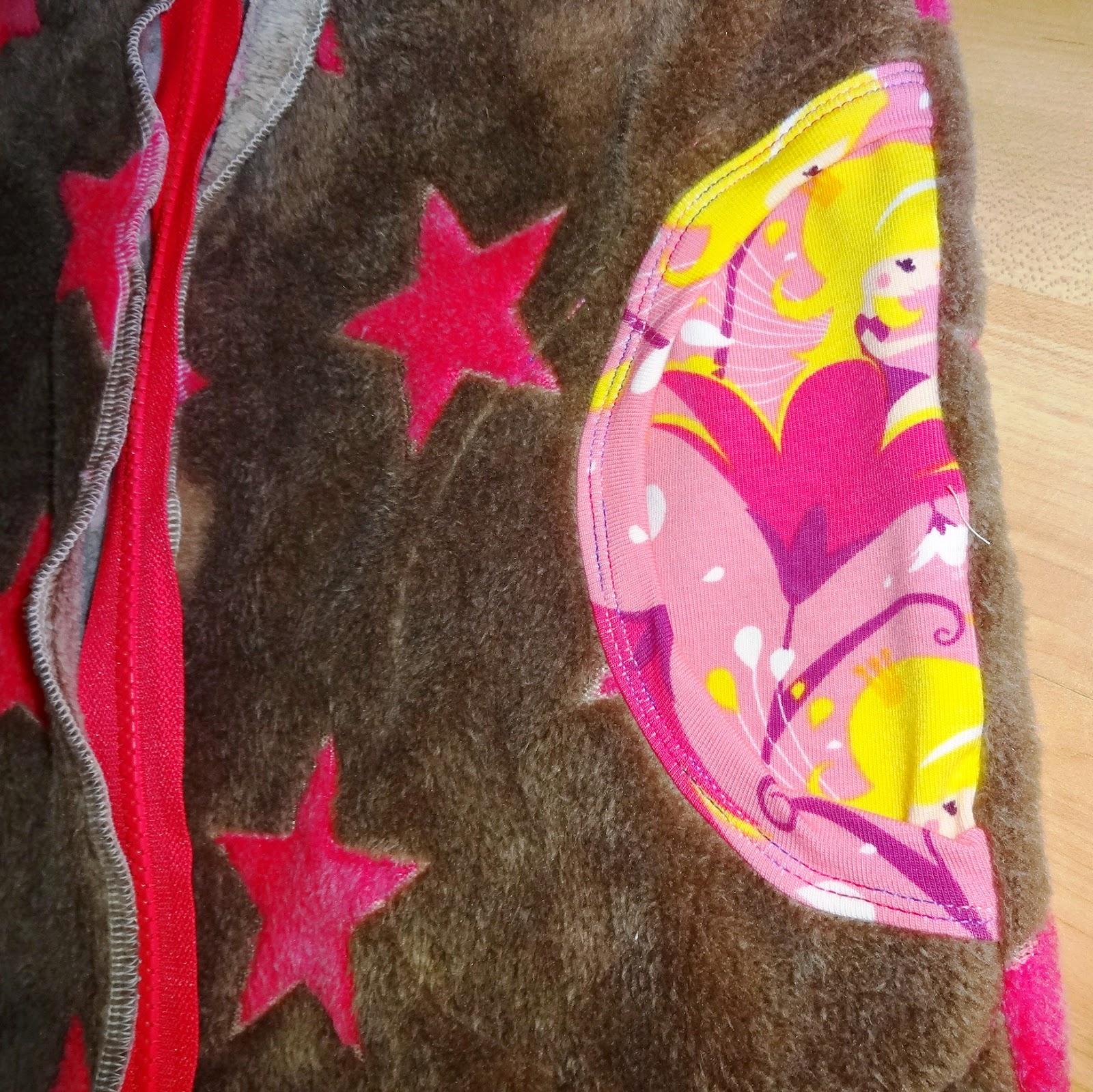 Kuscheljacke für Mädchen - Detail