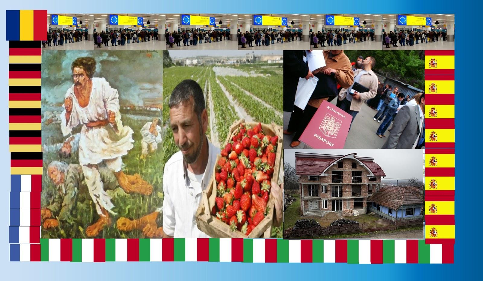 Românii ce muncesc în străinătate