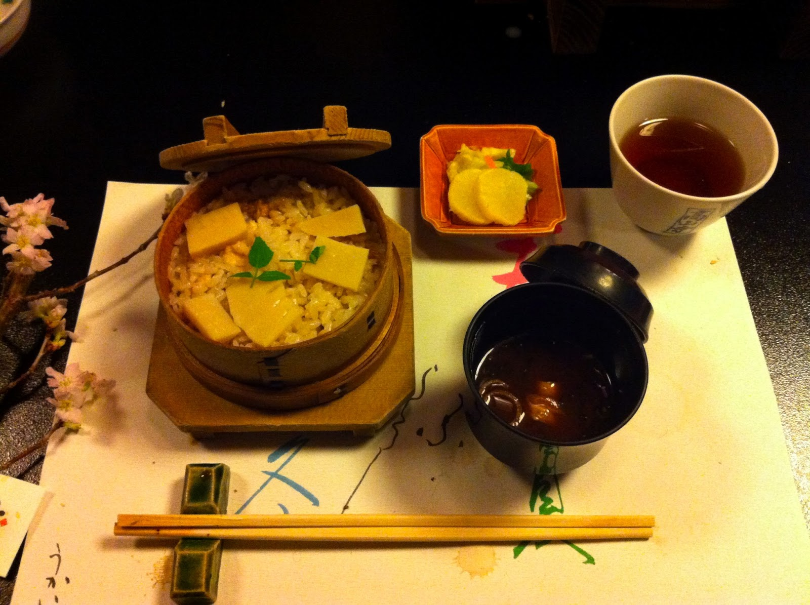 Ma vraie cuisine japonaise cuisine traditionnelle kaiseki - Cuisine japonaise traditionnelle ...