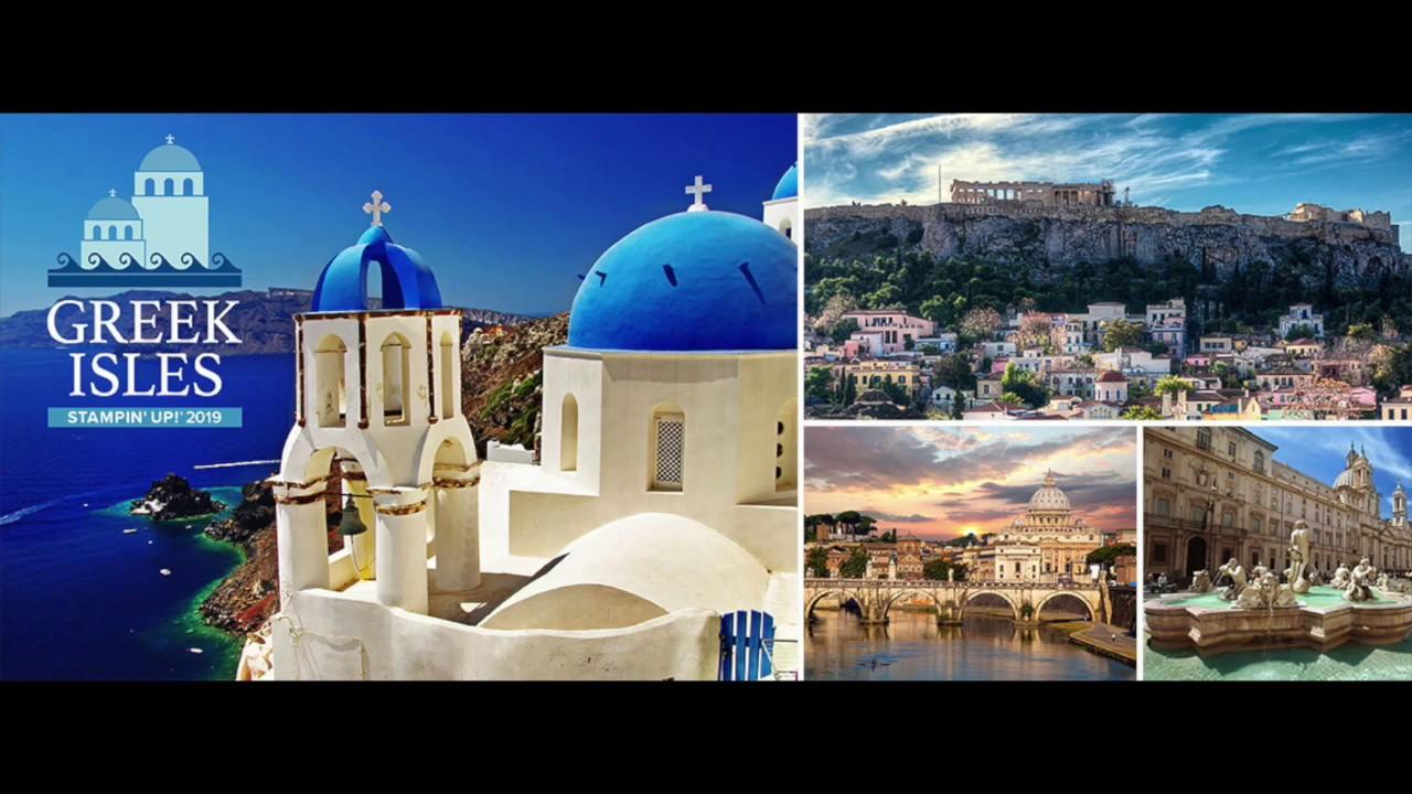 2019 Greek Isles Incentive Trip