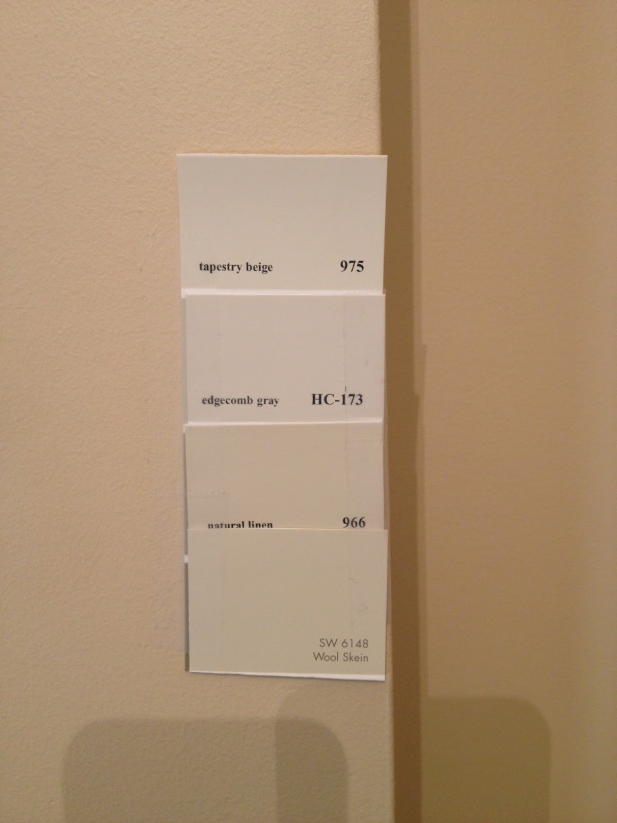 Married to ginger picking the perfect paint color for for Perfect grey beige paint