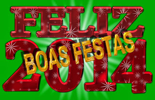 Frases De Feliz Año Nuevo: Feliz 2014 BOAS FESTAS