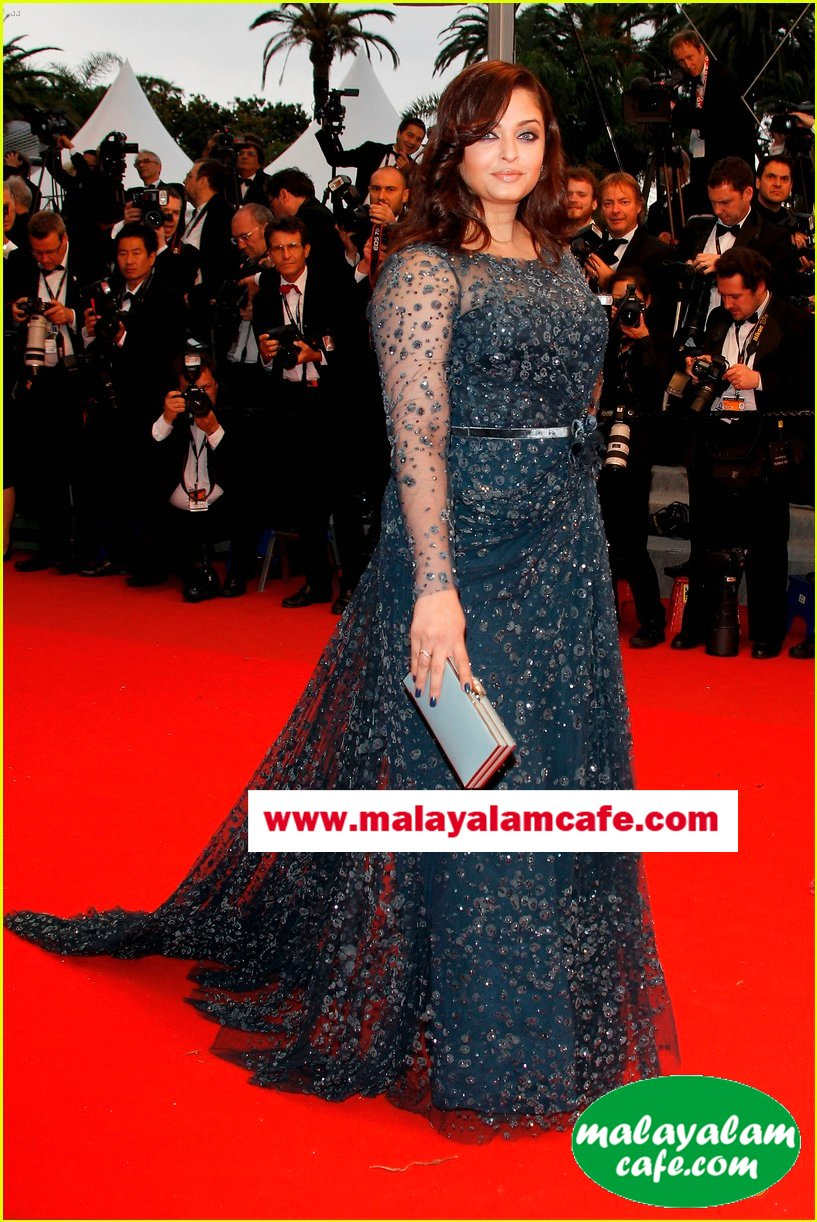 idea star singer malavika photos - Aishwarya Rai at Cannes Festival 2012 Mallu Actress