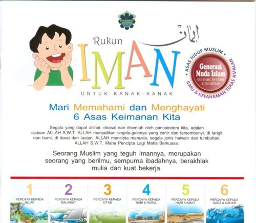 rukun iman - camp of padi