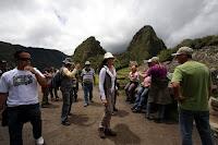 Turistas en el santuario de Machu Picchu. Foto: ANDINA / Percy Hurtado.