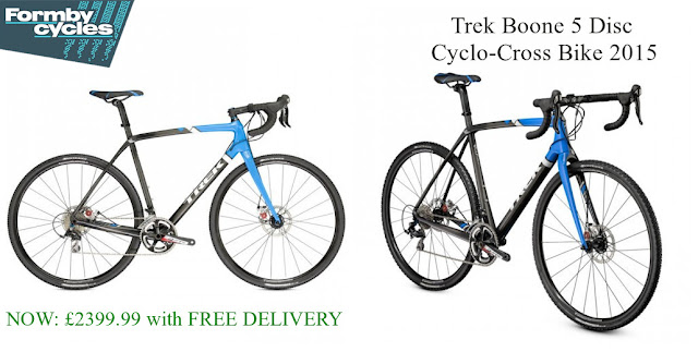 2015 Cyclo-Cross Bike: Trek Boone 5 Disc