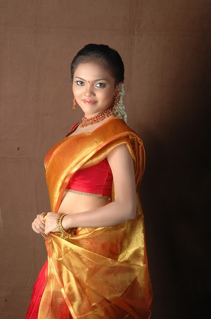 Actress Nikisha Desi Traditional Styles Spicy Stills Photo Shoots wallpapers