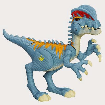 JUGUETES - Playskool Heroes : JURASSIC WORLD  Dilophosaurus | Dinosaurio | Figura - Muñeco  Toys | Producto Oficial Película 2015 | Hasbro B0540 | A partir de 3 años