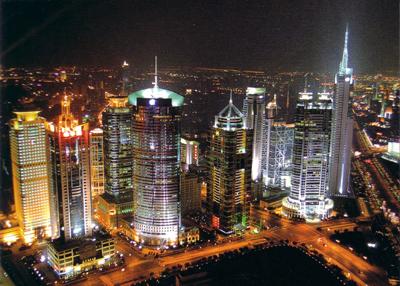 مدن الصين التجارية