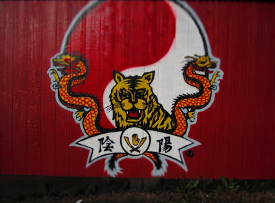 Oom Yung Doe martial arts school mural